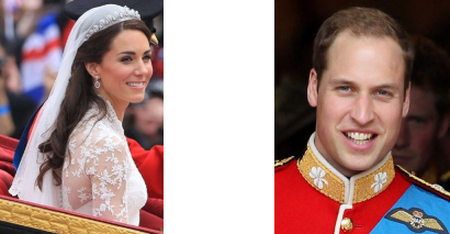 Catherine Middleton et Prince William
