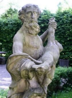 Une représentation de Saturne (Cronos) à Nuremberg
