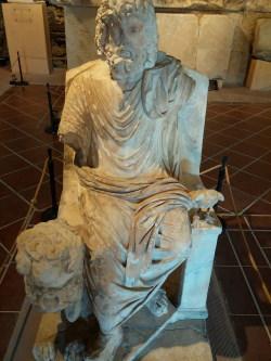 Une représentation de Hadès (Pluton) à Hierapolis