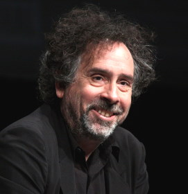 Tim Burton / Author : Gage Skidmore / CC BY-SA (https://creativecommons.org/licenses/by-sa/3.0)