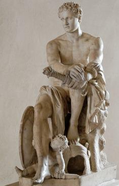 Ares Ludovisi, une sculpture romaine représentant Mars