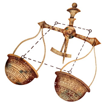 La créativité vue par la Balance, l'Ascendant Balance, la dominante planétaire Vénus ou la maison VII chargée