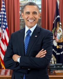 Barack Obama, un Lion célèbre
