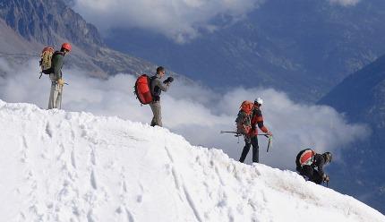 Un sport Capricorne, l'alpinisme