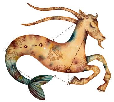 La créativité vue par le Capricorne, l'Ascendant Capricorne, la dominante planétaire Saturne ou la maison X chargée