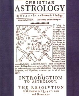 Le Traité Christian Astrology de William Lilly, publié en 1647