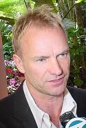 Sting, un chanteur un peu à part, étrange par certaines de ses interviews.