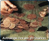 Astrologie horaire : posez une question sur vos finances.