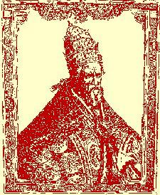 Le Pape Grégoire XIII, qui a imposé le nouveau calendrier Grégorien