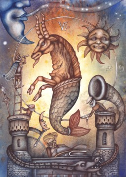 L'humour pour le Capricorne, l'Ascendant Capricorne, la dominante planétaire Saturne ou la maison X chargée