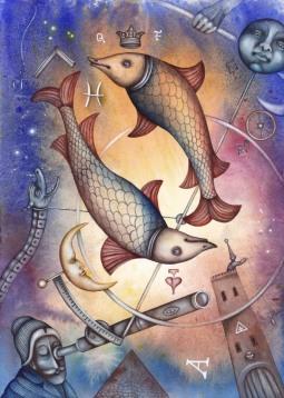 Quel animal favori pour les Poissons, l'Ascendant Poissons, la dominante planétaire Neptune ou la maison XII chargée