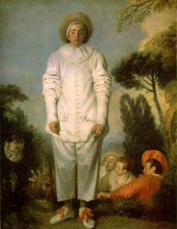 Le Pierrot de Watteau symbolise bien toute la poésie et l'innocence qui vient naturellement avec l'amplification des émotions. La Lune, c'est l'immersion dans un monde intérieur riche et dense, souvent tourné vers le passé et la nostalgie, pour le sentiment de sécurité qu'ils signifient, mais aussi pour le bien-être et l'intensité des impressions neuves de l'enfance, qui imprègnent pour la vie chaque individu.