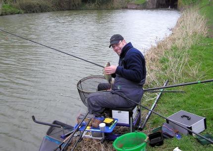 Un sport Cancer, la pêche en rivière